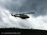 Post helikopteren